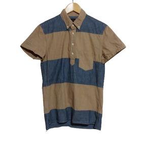 J CREW Short Sleeve Popover Chambray Shirt…